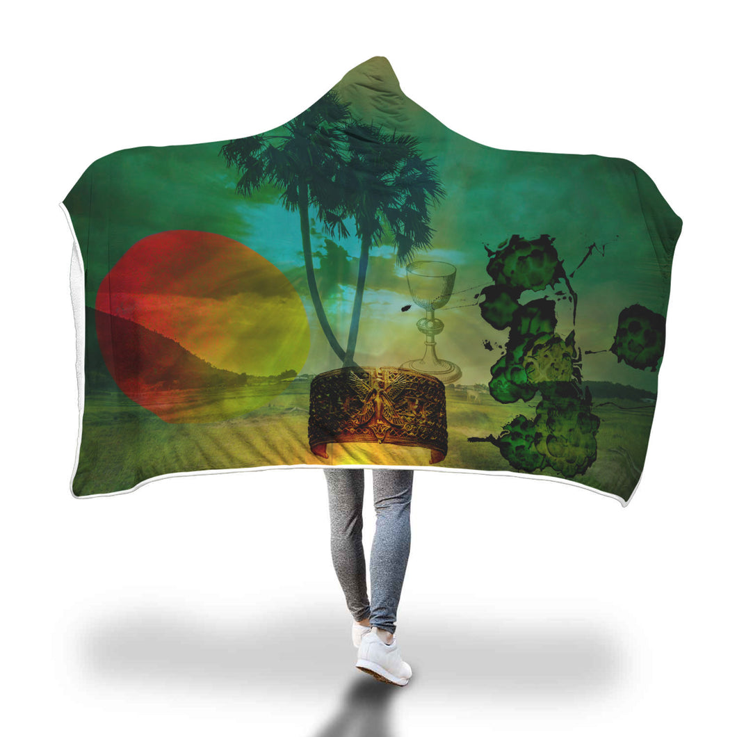Organic Ages Hooded Blanket