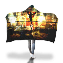 Dancing Ghost Hooded Blanket