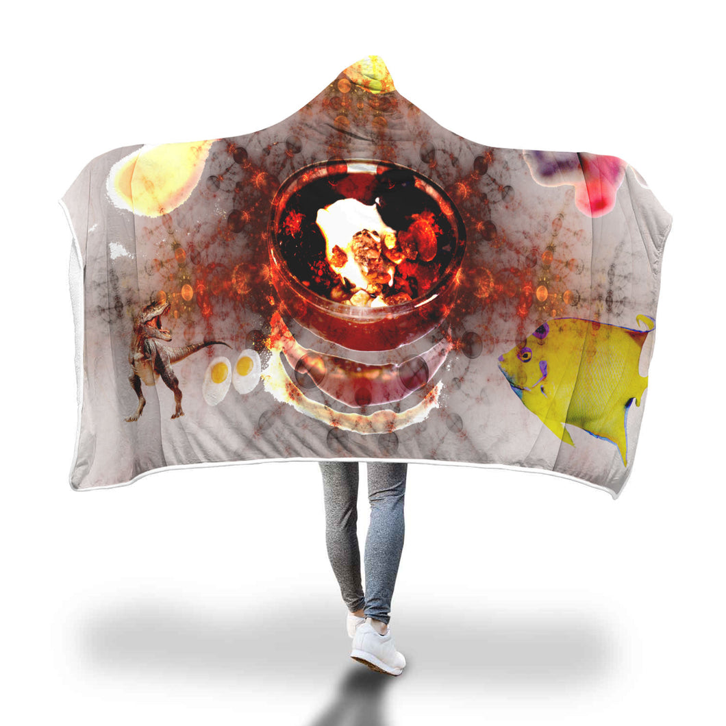 Primordial Soup Hooded Blanket