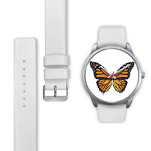 Thin Air Butterfly Silver Watch