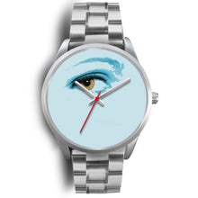 Eye Of The Time Silver Watch