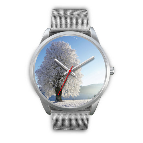 WinTree Silver Watch