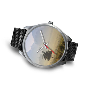 Siam Melancholy Silver Watch