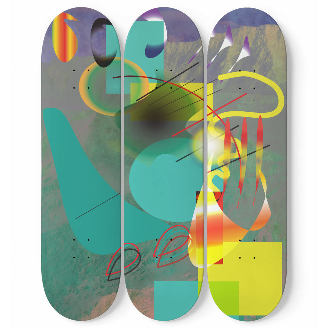 Brothel Reunion Skateboard Wall Art