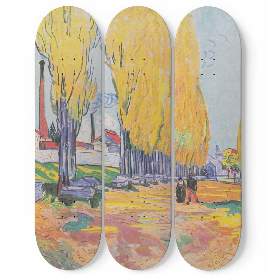 Les Alyscamps Skateboard Wall Art