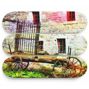 Gipsy Carriage Skateboard Wall Art