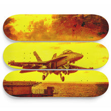 Jet in the Yellow Skateboard Wall Art