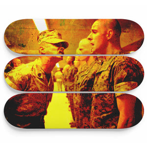 Aie Aie Captain Skateboard Wall Art