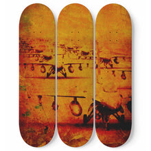 Jet Filed Skateboard Wall Art