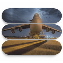 Midnight Whale Jet Skateboard Wall Art