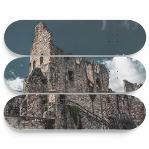 Old Landlord Castle Skateboard Wall Art