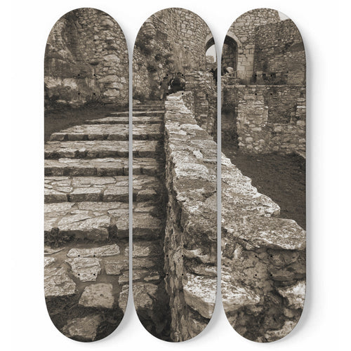 Secret Stairs Skateboard Wall Art