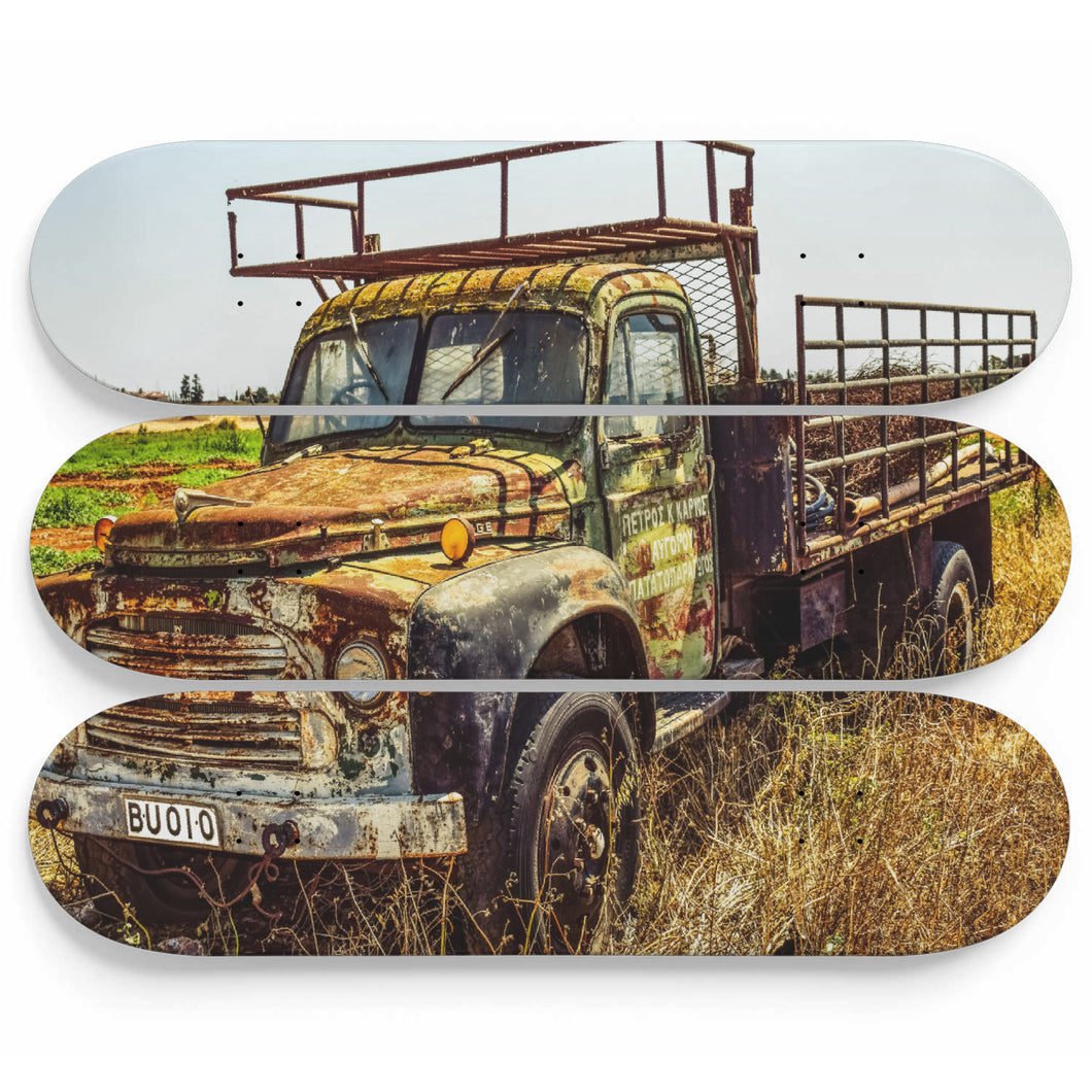Truck Apache Skateboard Wall Art