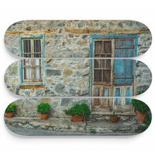 Clean Stone House Skateboard Wall Art