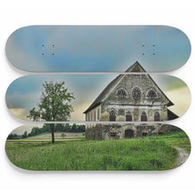 Secluded Mansion Skateboard Wall Art