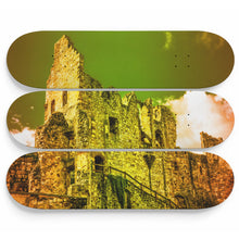 Corvin Castle Skateboard Wall Art
