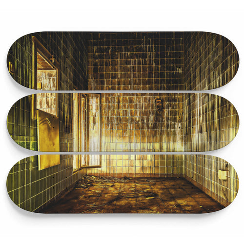 Lavatory Lost Space Skateboard Wall Art