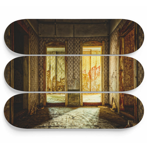 Turkish Bath Lost Space Skateboard Wall Art
