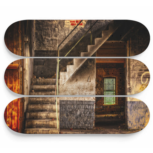 Lost Souls Inner Stair Skateboard Wall Art