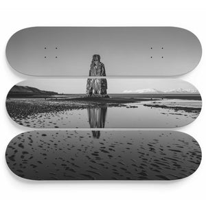 The Stone of a Thousand Shades Skateboard Wall Art