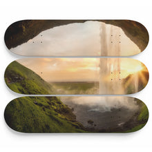 Veil of the Cave Skateboard Wall Art
