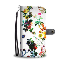 Vivid Flowers Wallet Case