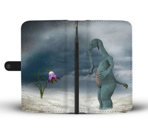 Apposite Flower Wallet Case