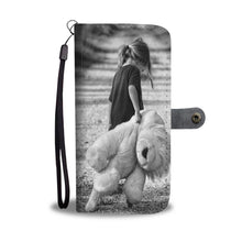 Bear the Childhood in Mind Wallet Case