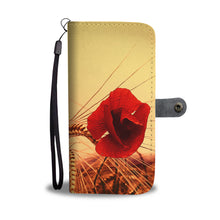 Red Passion Wallet Case