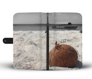 Coconut Shell Wallet Case