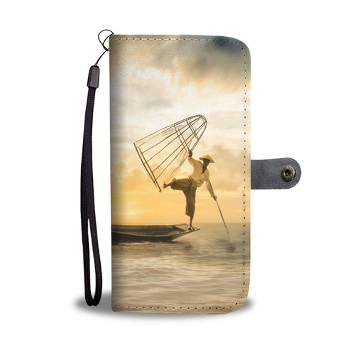 The Acrobat Fisherman Wallet Case