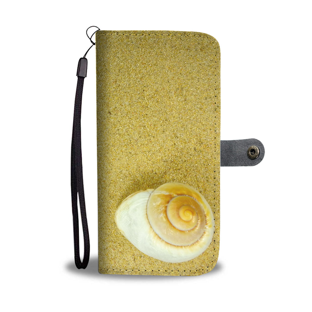 Deserted Snail Wallet Case