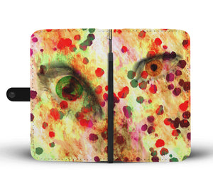 Leopard Eyes Wallet Case