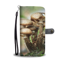 Mushroom To Look Wallet Case