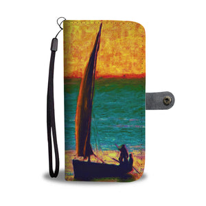 Nile Of The Rainbow Wallet Case