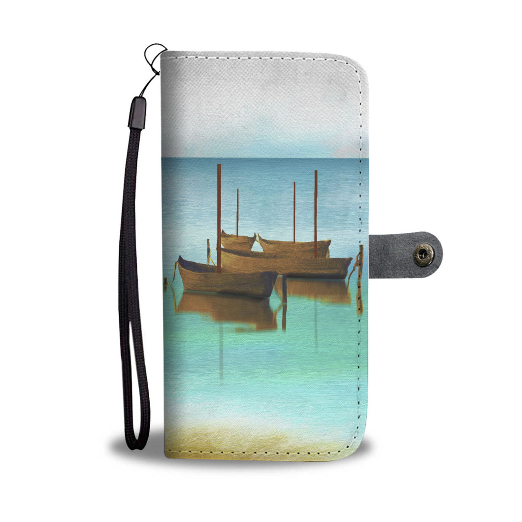 Nobody's Boats Wallet Case