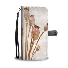 Spent Poppy Wallet Case