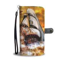 Storm Ship Wallet Case