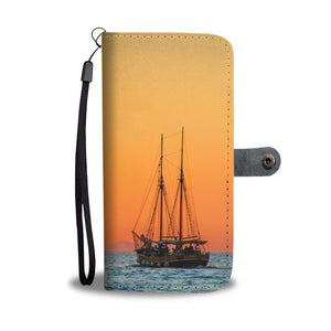 Two Masts Wallet Case