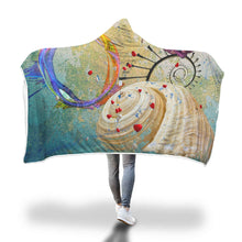 De Fractalis Substance Hooded Blanket