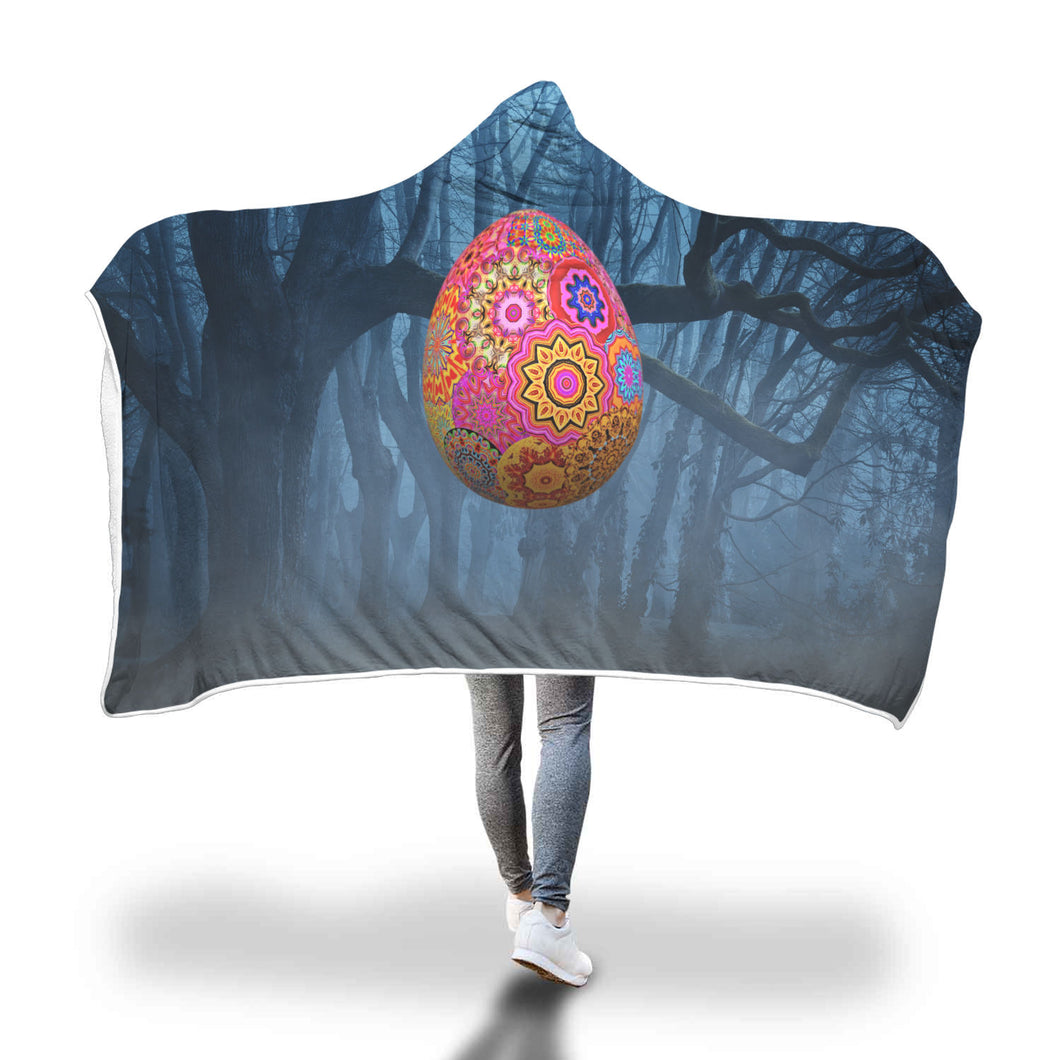 Alien Egg Hooded Blanket
