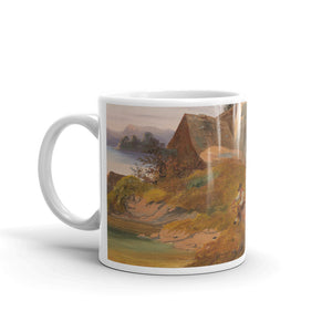 Anton Hansch - Resting by the Brookside Classic Art Mug