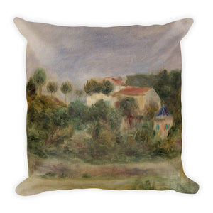 Houses in a Park Premium Pillow