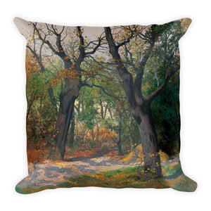 Autumn Morning Premium Pillow