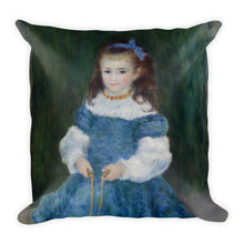 Girl with a Jump Rope Premium Pillow