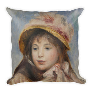 Girls with Hats Premium Pillow