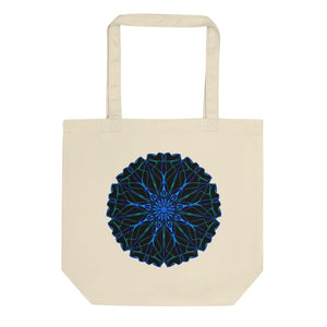 Black Hole Mandala Eco Tote Bag