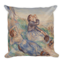 Grape Gatherers Premium Pillow