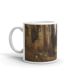 Samuel Bough - Helmsley Castle in North Yorkshire Classic Art Mug