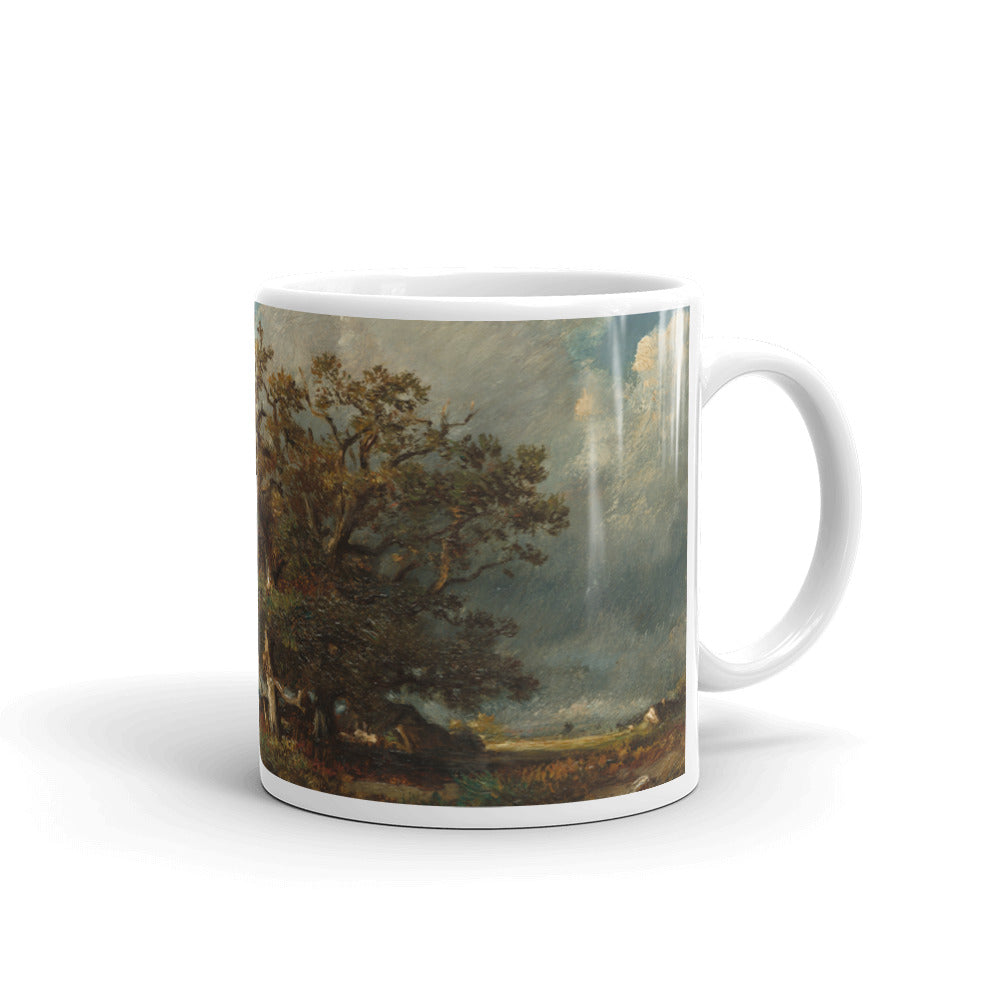 The Old Oak by Jules Dupré Classic Art Mug